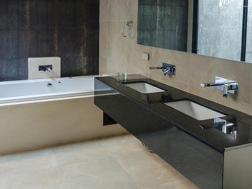 Individuelle Badeinrichtung, Beispiel