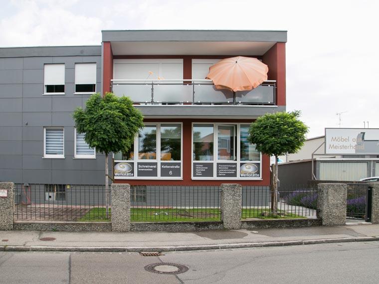 Firmengebäude Müller Werkstätte