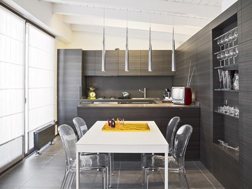 Beispiel einer individuellen Küche vom Schreiner