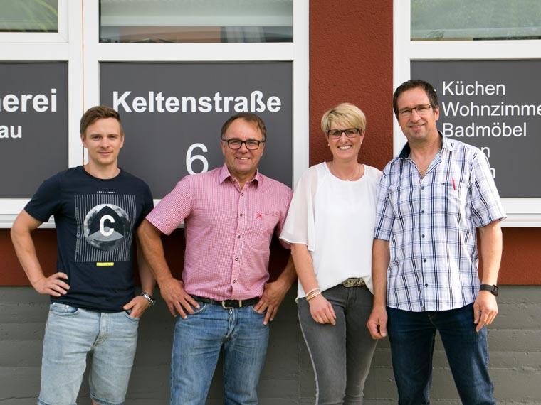 Das Team der Müller Werkstätte bei Augsburg