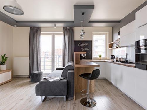 Beispiel Essbereich / Wohnzimmer vom Schreiner